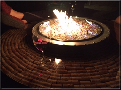 Shaun Ibe Wine Barrel Fire Pit