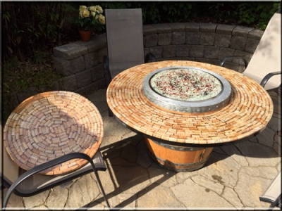 How To Install A Propane Fire Pit-Fire Pit-Propane-Glassel