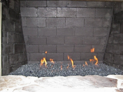 Valve in Fireplace 2