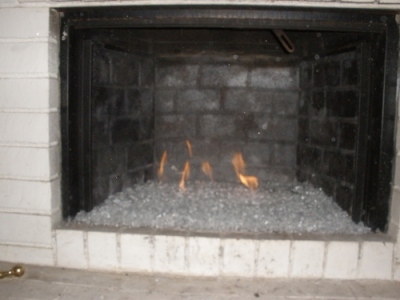 Crap Fireplace Glass 6